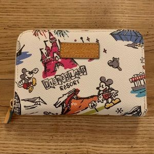 Dooney & Bourke Disneyland Disneyana wallet